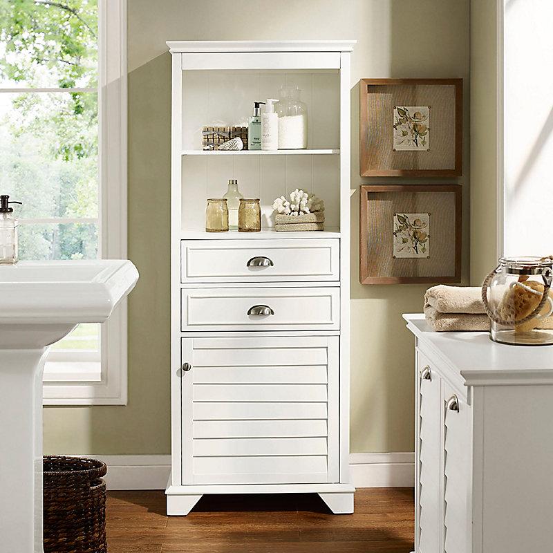white louvered cabinet improvements catalog