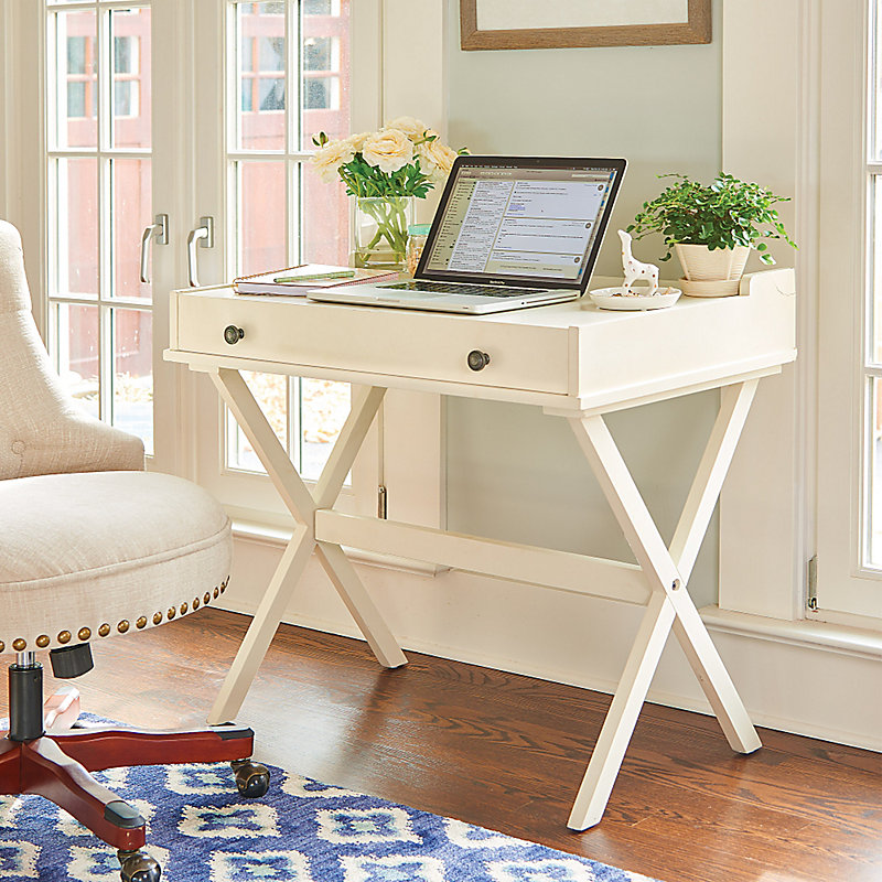 Campaigna Flip Top Desk with Corkboard - Black
