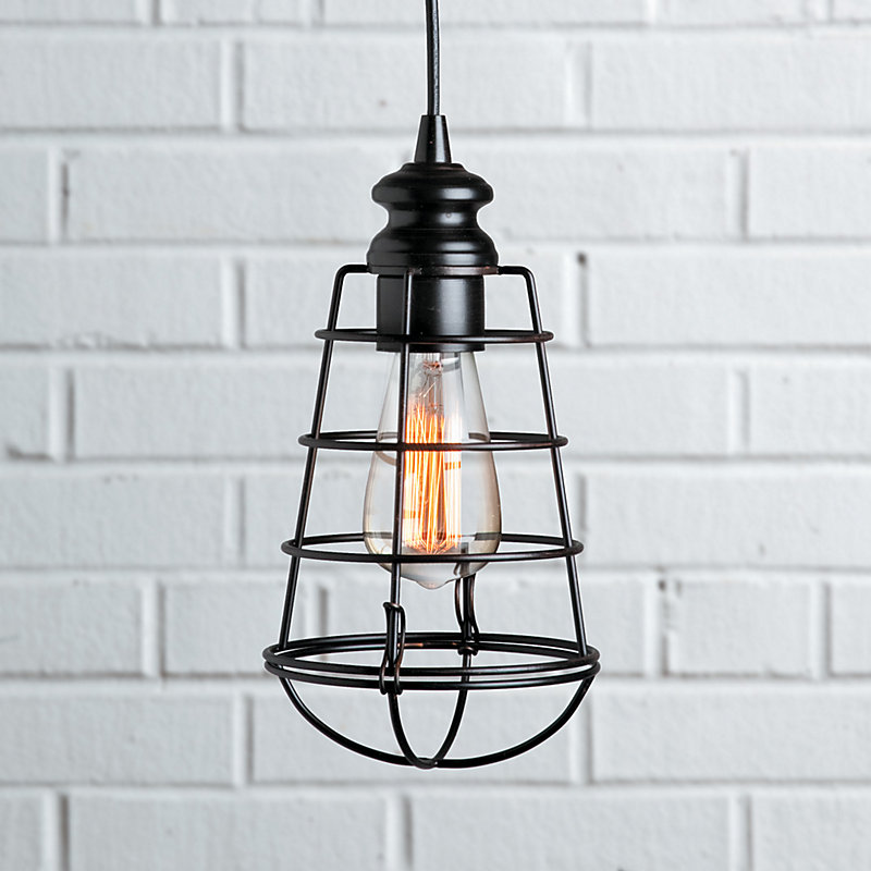 Industrial Cage Instant Pendant Light