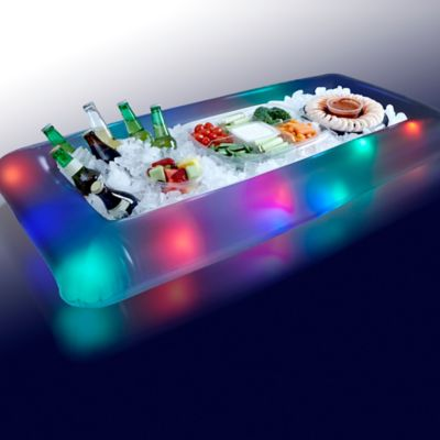 LED Illuminated Buffet Cooler