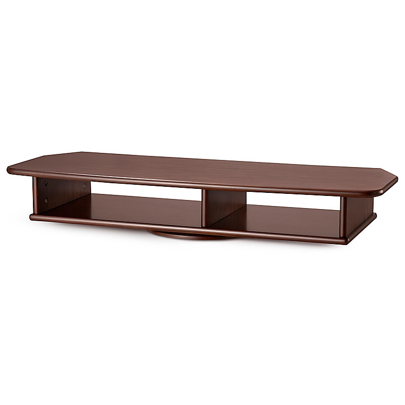 XL Wide TV Swivel Stand - Cherry