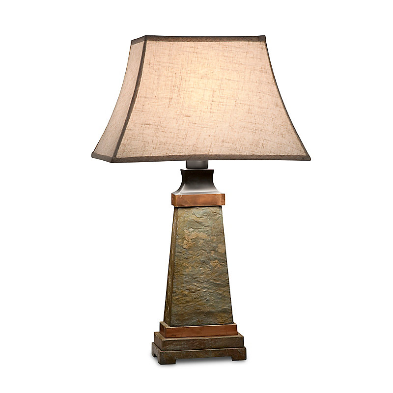 Phoenix Slate Outdoor Table Lamp