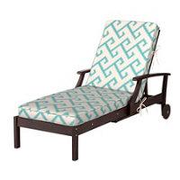 Sunbrella chaise cushion box edge 72 x21 x4 for Box edge chaise cushion