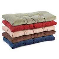 Twill Tufted Bench Cushion 36 X 14 X 2 1 2 Improvements Catalog