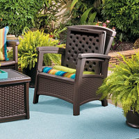 Suncast Resin Woven Outdoor Patio Furniture Improvements Catalog