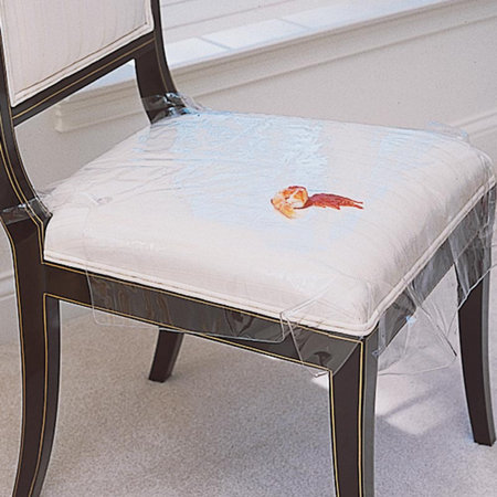 Plastic seat covers seat protectors Furniture plastic cover