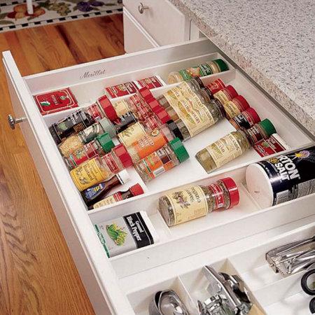 Kitchen Drawer Spice Organizer Ikea