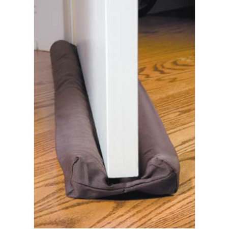 This fashionable draft guard with a rich tapestry design forms an airtight seal on both sides of doors or windows to help block out cold winter air. Simply slide under a door and the draft guard stays in place. Moves with the door as it opens and closes. Cotton/polyester cover is machine washable/5(36).