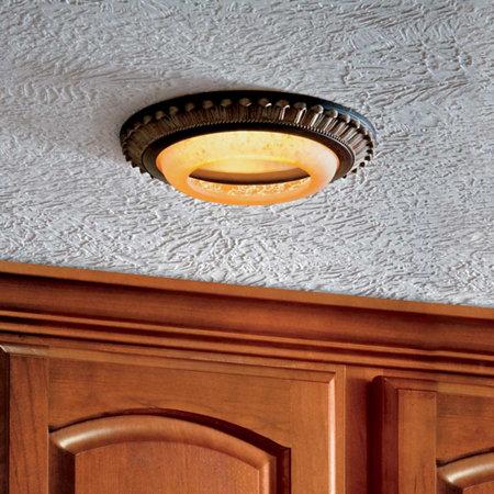 Decorative recessed lighting covers