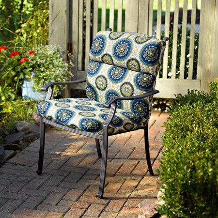 Hinged seat cushion knife edge high back improvements catalog - Hinged outdoor cushions ...