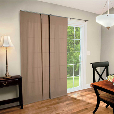 fabric panel blinds images