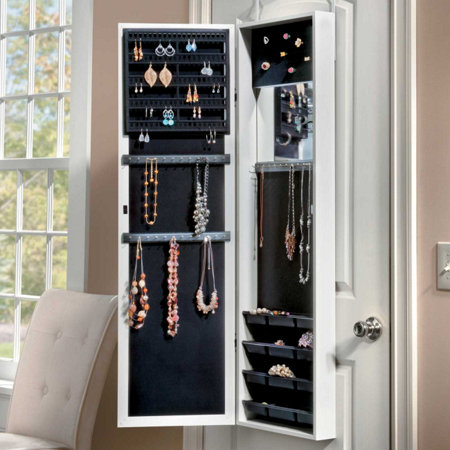 Over The Door Jewelry Armoire Improvements Catalog