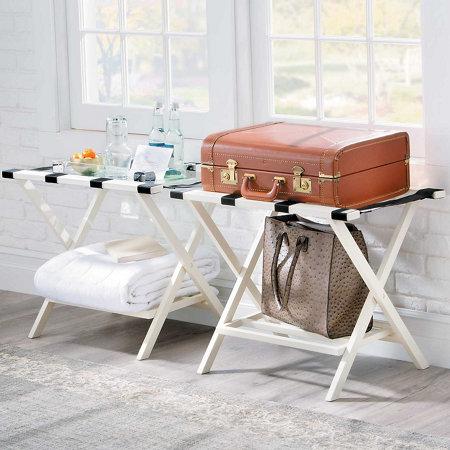 Folding luggage rack improvements catalog for Folding luggage racks bedroom