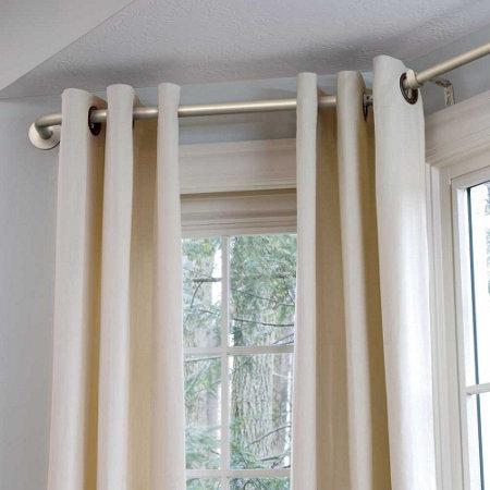 Bay window curtain rod improvements catalog - Curtains for a bay window ...