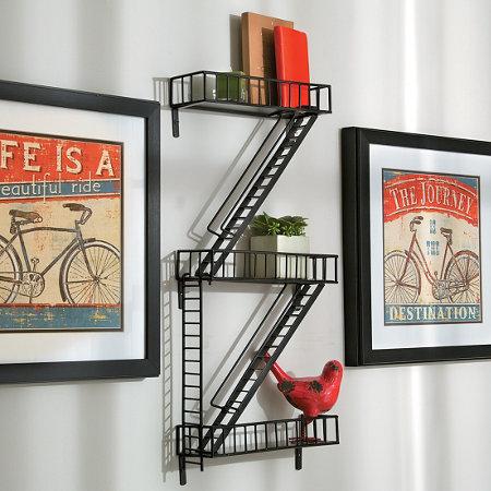 Fire Escape Wall Shelf Improvements Catalog