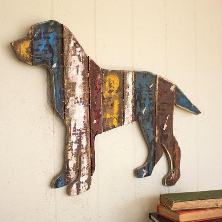 Reclaimed Wood Dog Wall Art - Reclaimed Wood Dog Wall Art Improvements Catalog