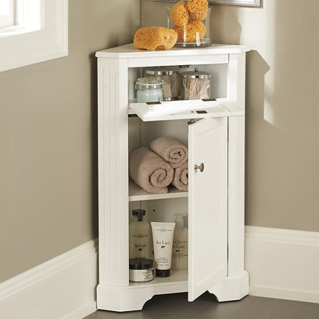 Bathroom Corner Storage Cabinet