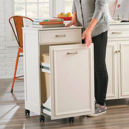 Mobile Trash Hide A Way Cabinet Improvements Catalog