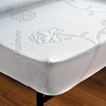 4 1 2 high density foam sleeper sofa mattress with for Sofa bed zippered mattress cover
