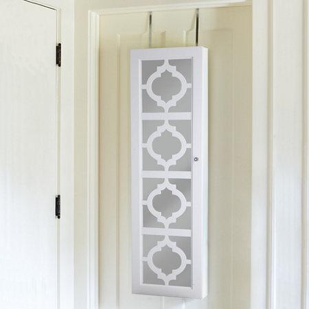 Moroccan Decorative Over The Door Jewelry Armoire