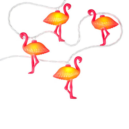 Flamingo 18-Foot 20-Light String for Free