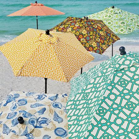 Outdoor Specialty Printed Umbrellas and Replacement Canopies - Outdoor Specialty Printed Umbrellas And Replacement Canopies