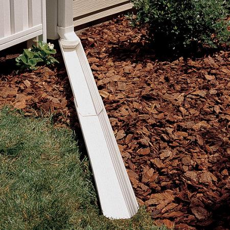 adjust a spout downspout extension - Decorative Downspouts