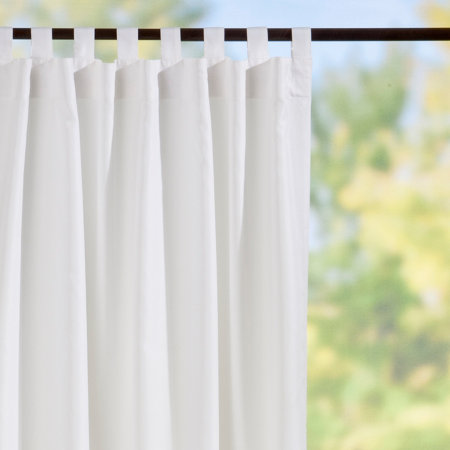 tab top semi opaque outdoor curtain panels white improvements catalog