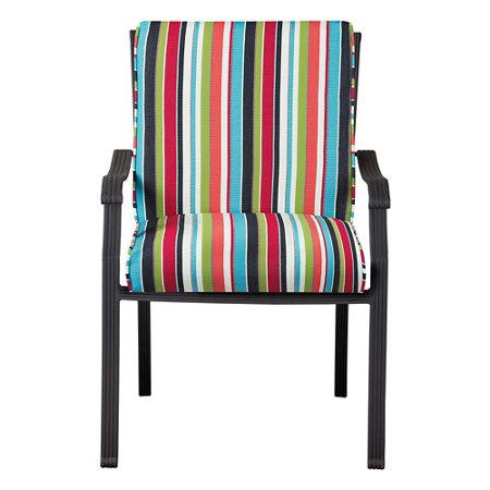Sunbrella hinged seat cushion box 40 x20 x4 improvements catalog - Hinged outdoor cushions ...