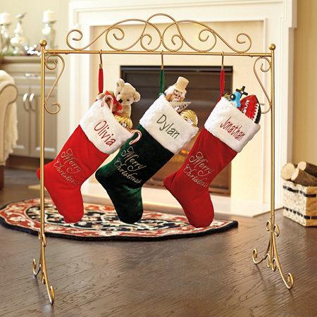 Snowman Stocking Holder 14