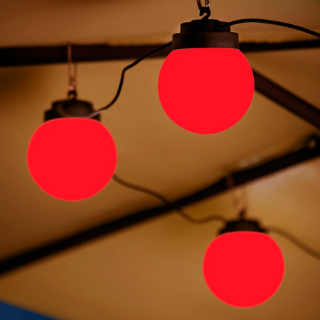 Outdoor String Lights That Change Colors : Color Changing LED Globe String Lights - Improvements Catalog