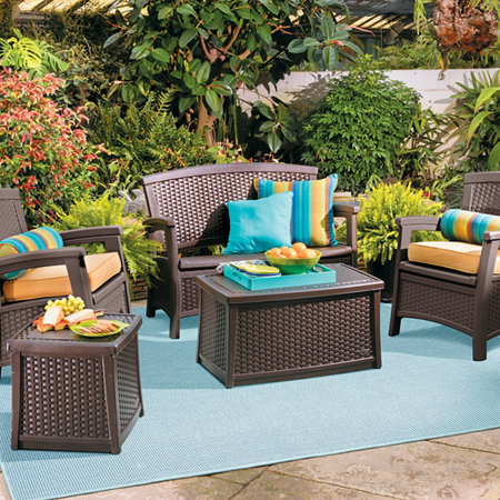 Outdoor Resin Woven Furniture Improvements Catalog