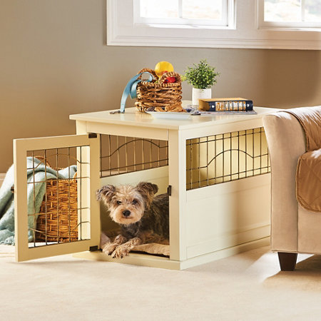 Shelton Wood Dog Crate Tables Improvements Catalog