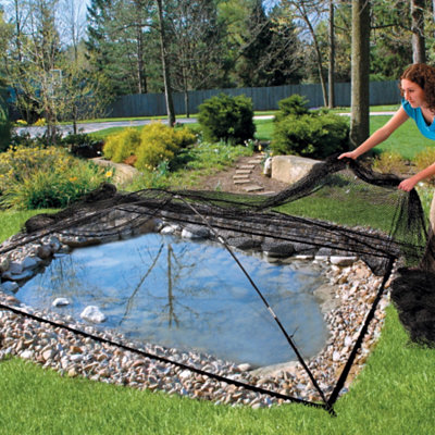 Garden and pond covers for Garden pool netting