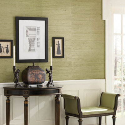 Faux grasscloth wallpaper bathroom 2017 grasscloth wallpaper for Vinyl grasscloth wallpaper bathroom
