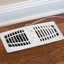 Heat Register Deflector Under Furniture Home Decor