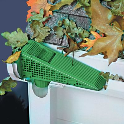 Gutter Wedge Downspout Screen