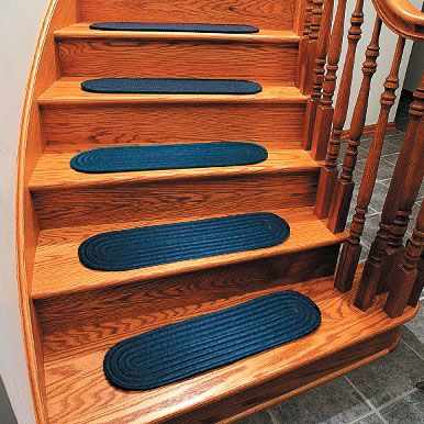 Braided Stair Tread Rugs-Carpet Stair Treads