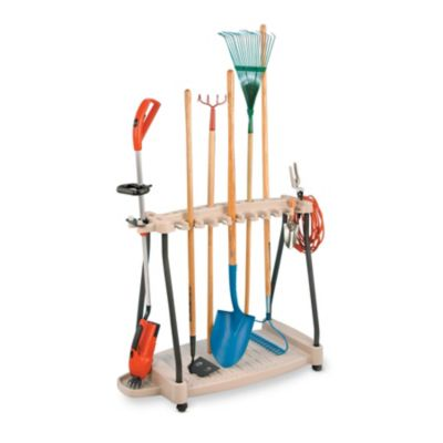 Suncast Garden Tool Rack on Wheels
