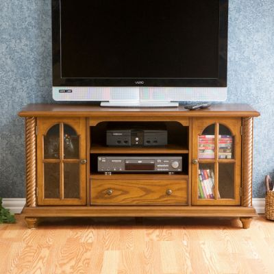 Arch Window TV Console