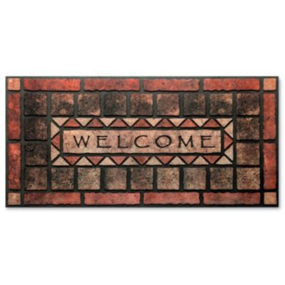 Welcome Stone Door Mat