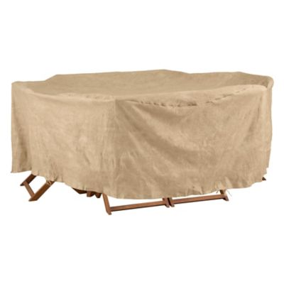 Oval/Rectangular Table Set Cover