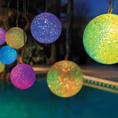 Solar Color-Changing Patio Lights