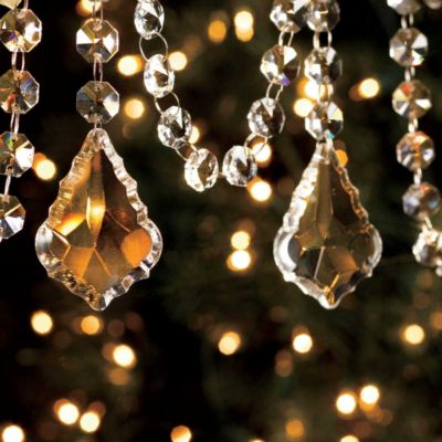 "40"" Crystal Swags-Set of 6"