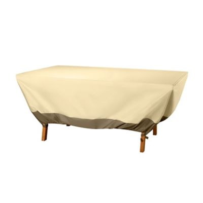 Oval/Rectangle Table Cover -72""