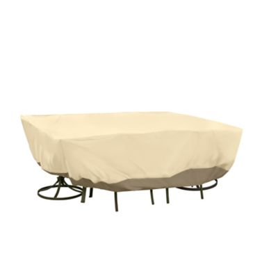 Oval/Rectangle Table Set Covers