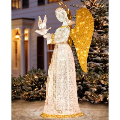 "60"" Christmas Angel with Dove"