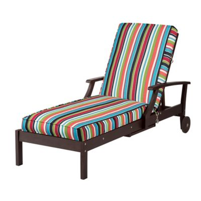 "Sunbrella Chaise Cushion (Box Edge) 72""x21""x4"" - Carousel"