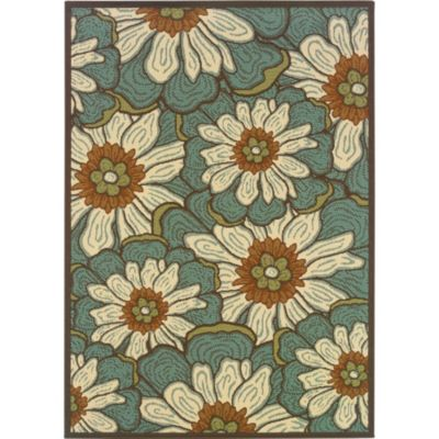 Blanket of Blossoms Outdoor Rugs