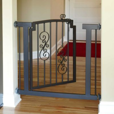 Wrought Iron Scroll Pet Gates